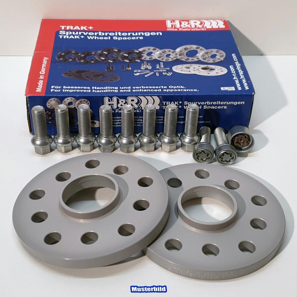 H/&R Spurverbreiterung DR für Audi A6 4F 20=2x10mm mit Bolzen ABE