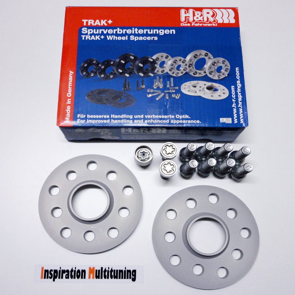 H/&R Spurverbreiterung DR für Audi A4 8E 30=2x15mm mit Bolzen ABE